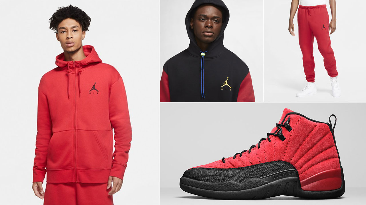 air-jordan-12-reverse-flu-game-hoodie-pants-outfit
