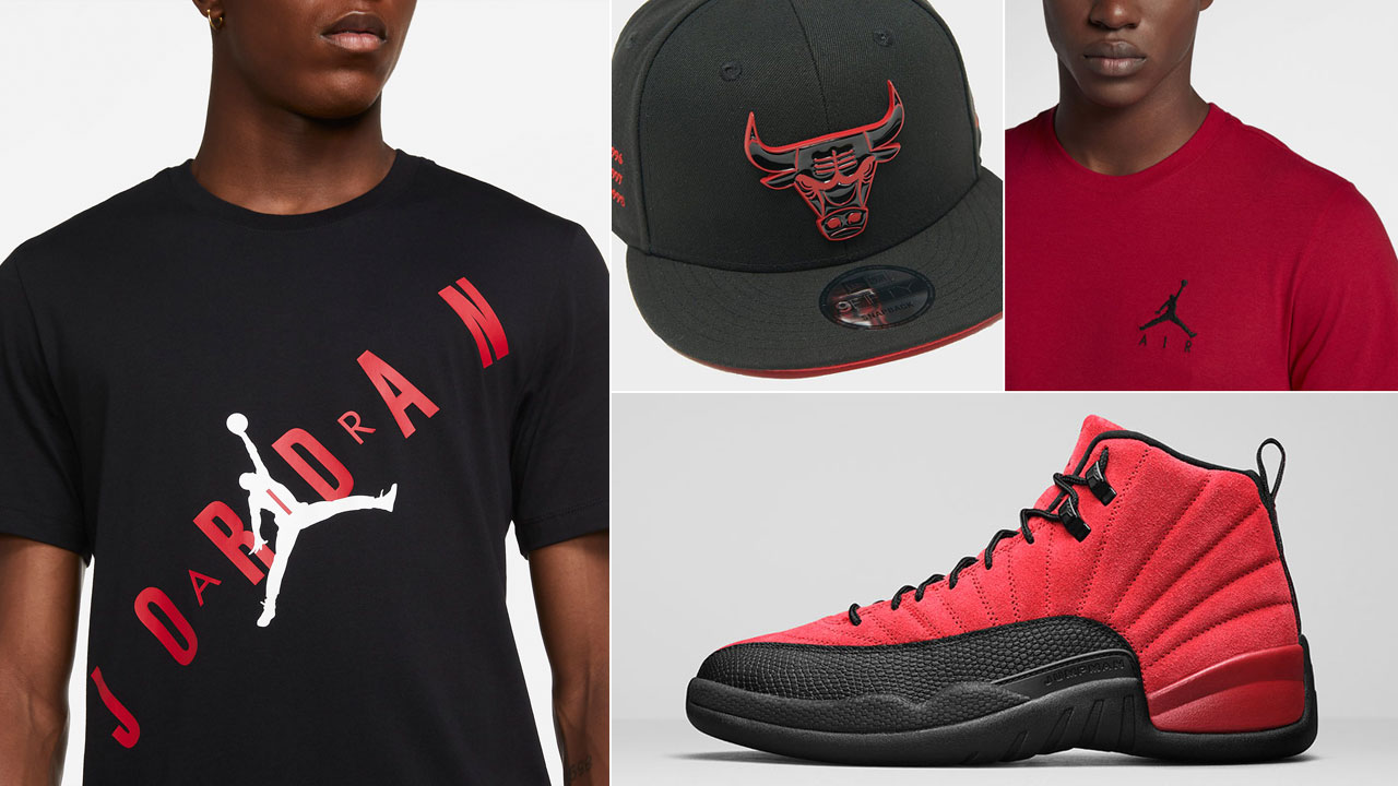 air-jordan-12-reverse-flu-game-matching-clothing-outfits