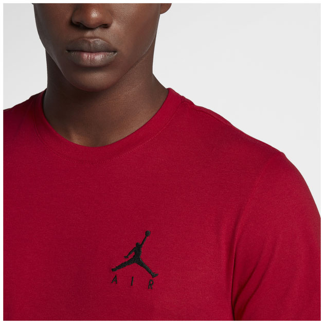 air-jordan-12-reverse-flu-game-red-black-shirt-1