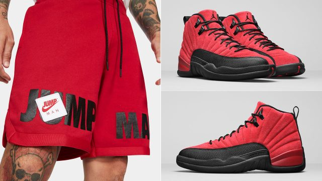 air-jordan-12-reverse-flu-game-shorts