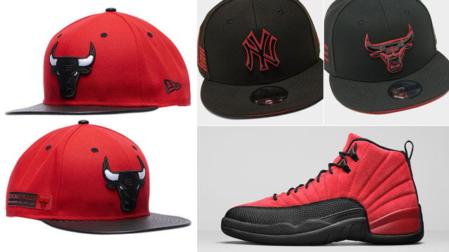 air-jordan-12-varsity-red-reverse-flu-game-hats