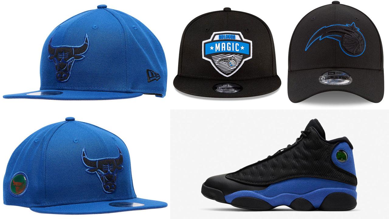 air-jordan-13-hyper-royal-black-hats