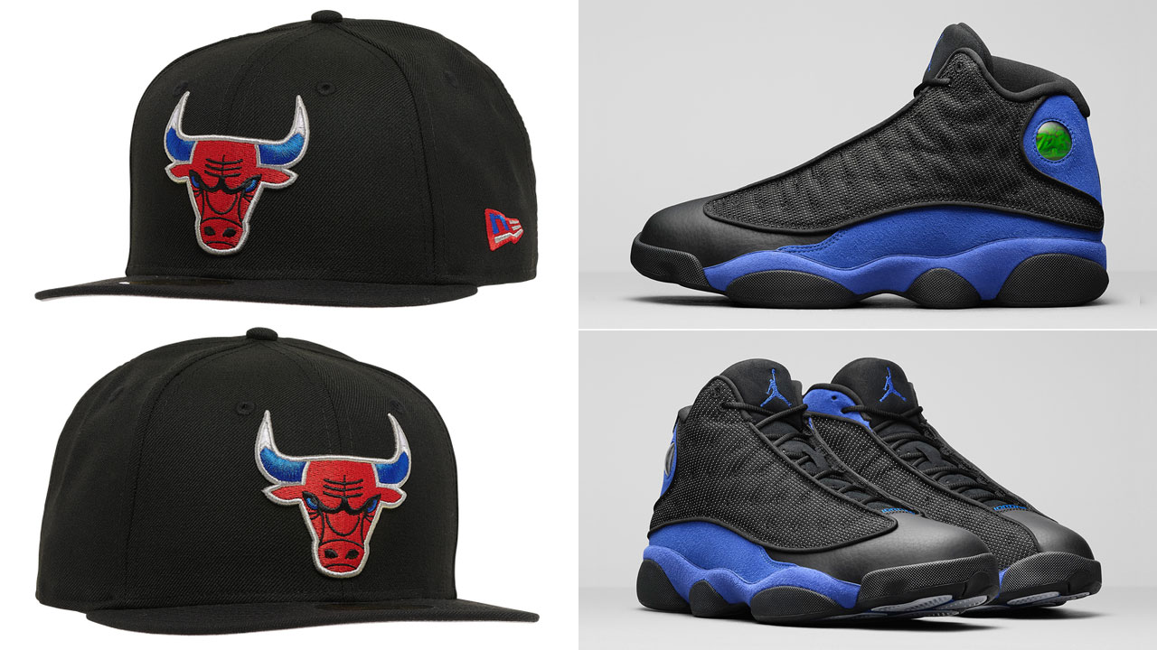 air-jordan-13-hyper-royal-bulls-fitted-hat