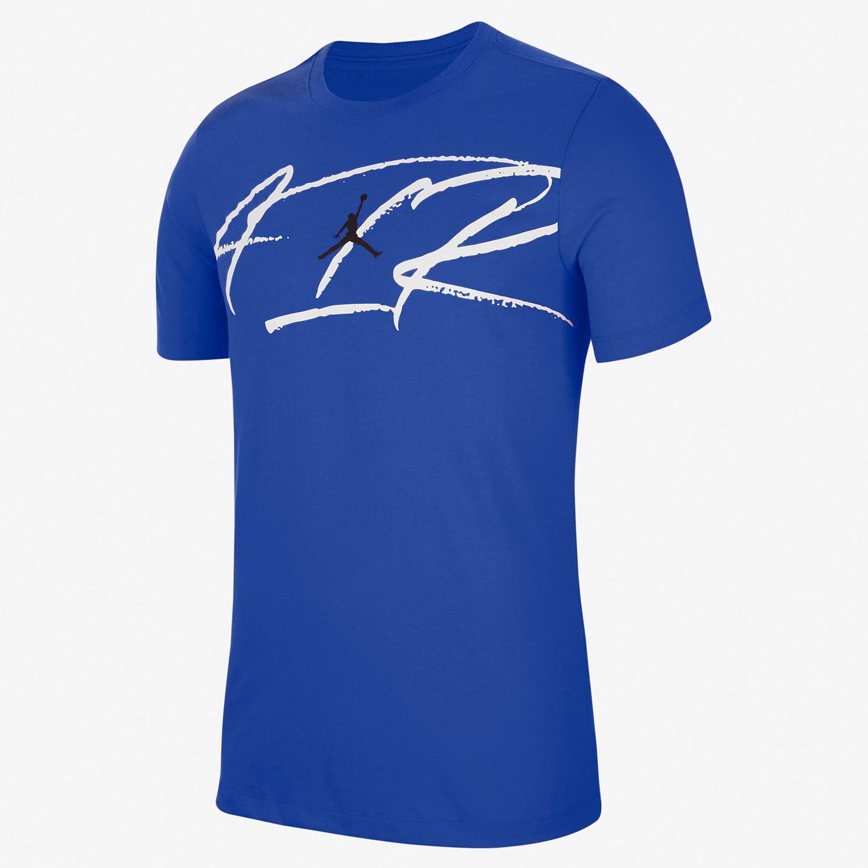air-jordan-13-hyper-royal-tee-shirt-match