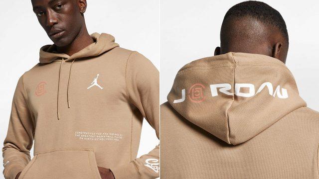 air-jordan-14-low-clot-sepia-stone-hoodie