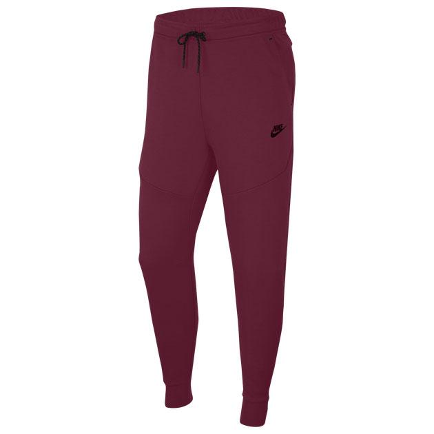air-jordan-8-burgundy-beetroot-jogger-pants