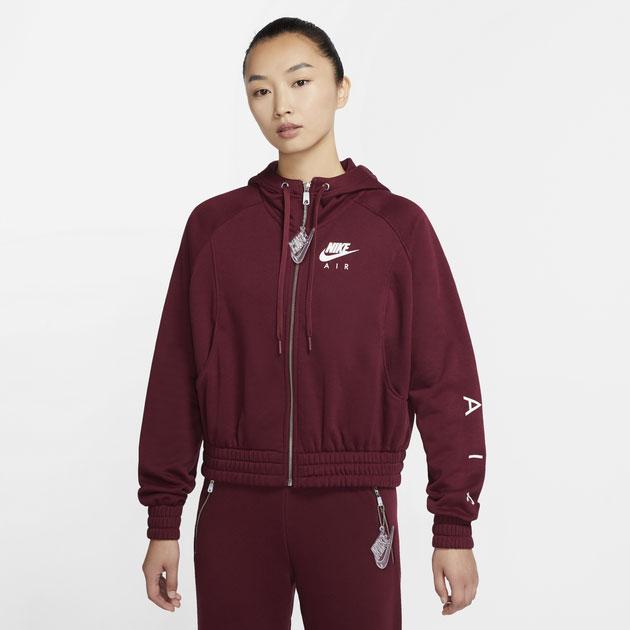 air-jordan-8-burgundy-beetroot-womens-hoodie