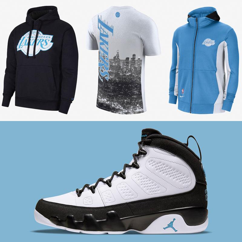air-jordan-9-university-blue-lakers-outfits