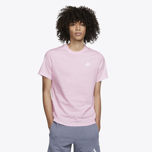 j-balvin-air-jordan-1-pink-foam-nike-shirt