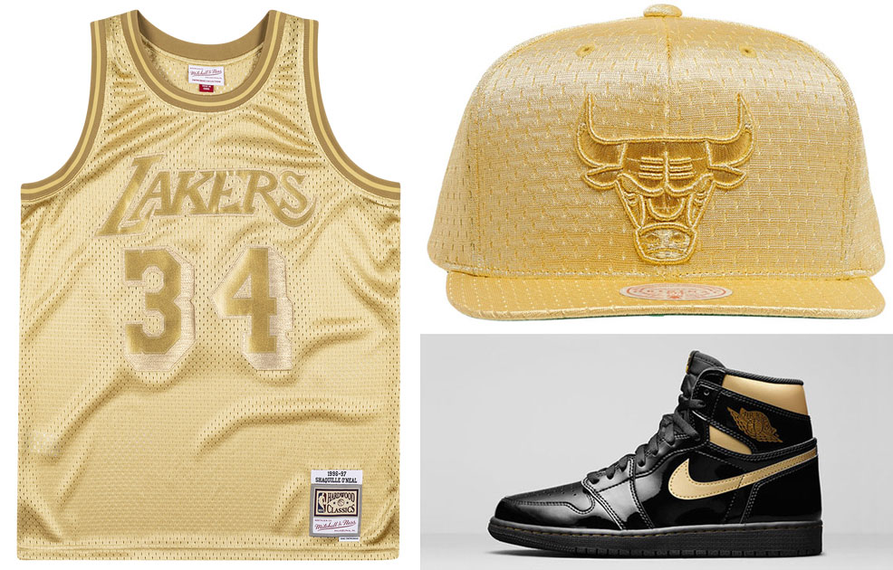 jordan-1-high-black-gold-nba-hats-and-jerseys