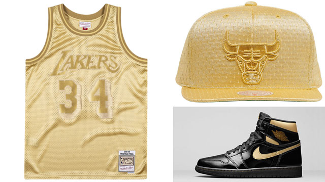 jordan-1-metallic-gold-nba-hats-and-jerseys