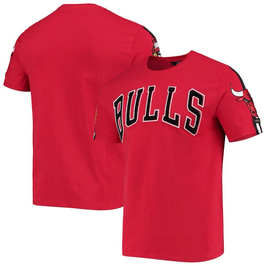 jordan-12-reverse-flu-game-bulls-pro-standard-shirt