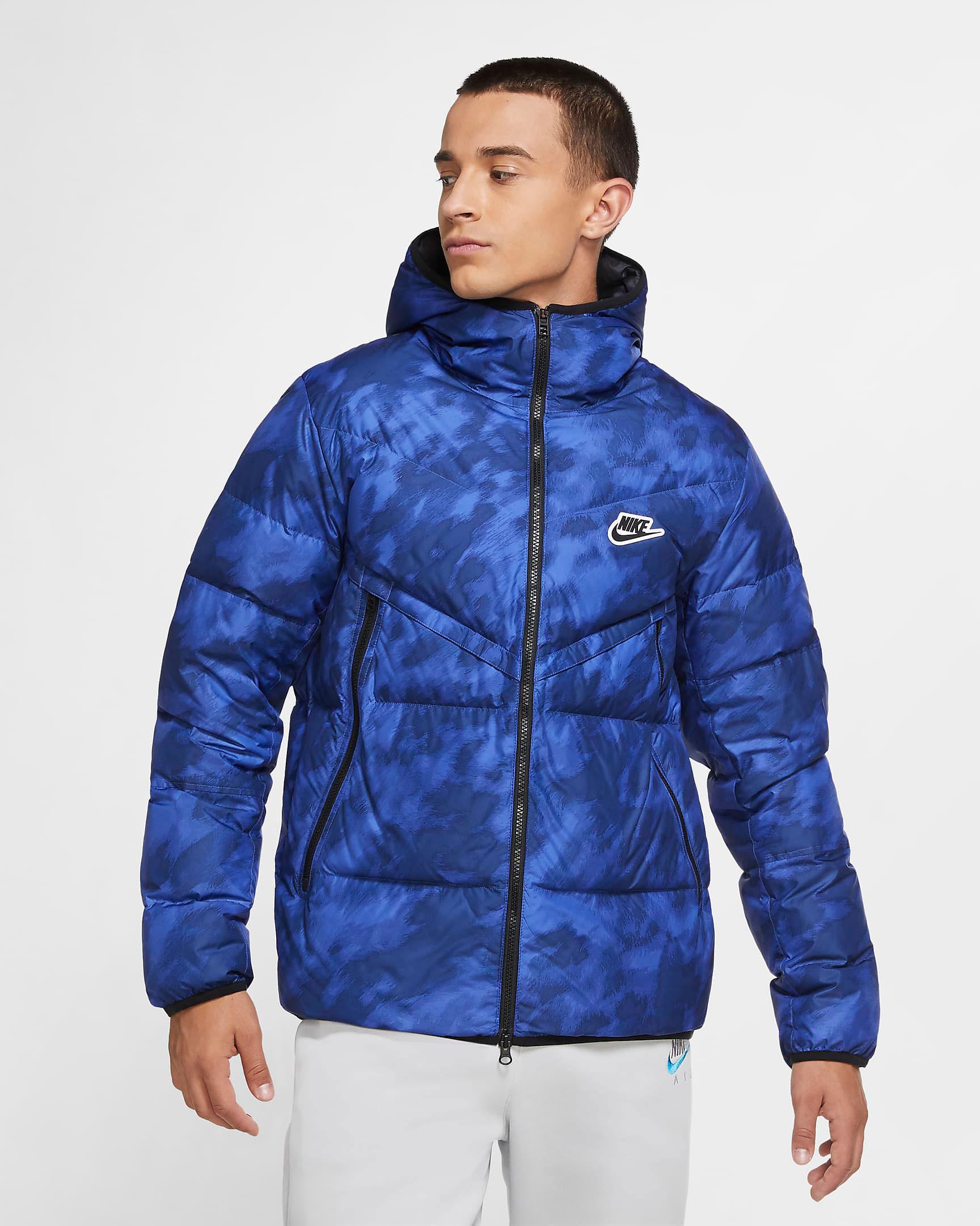 jordan-13-hyper-royal-black-nike-winter-jacket-1