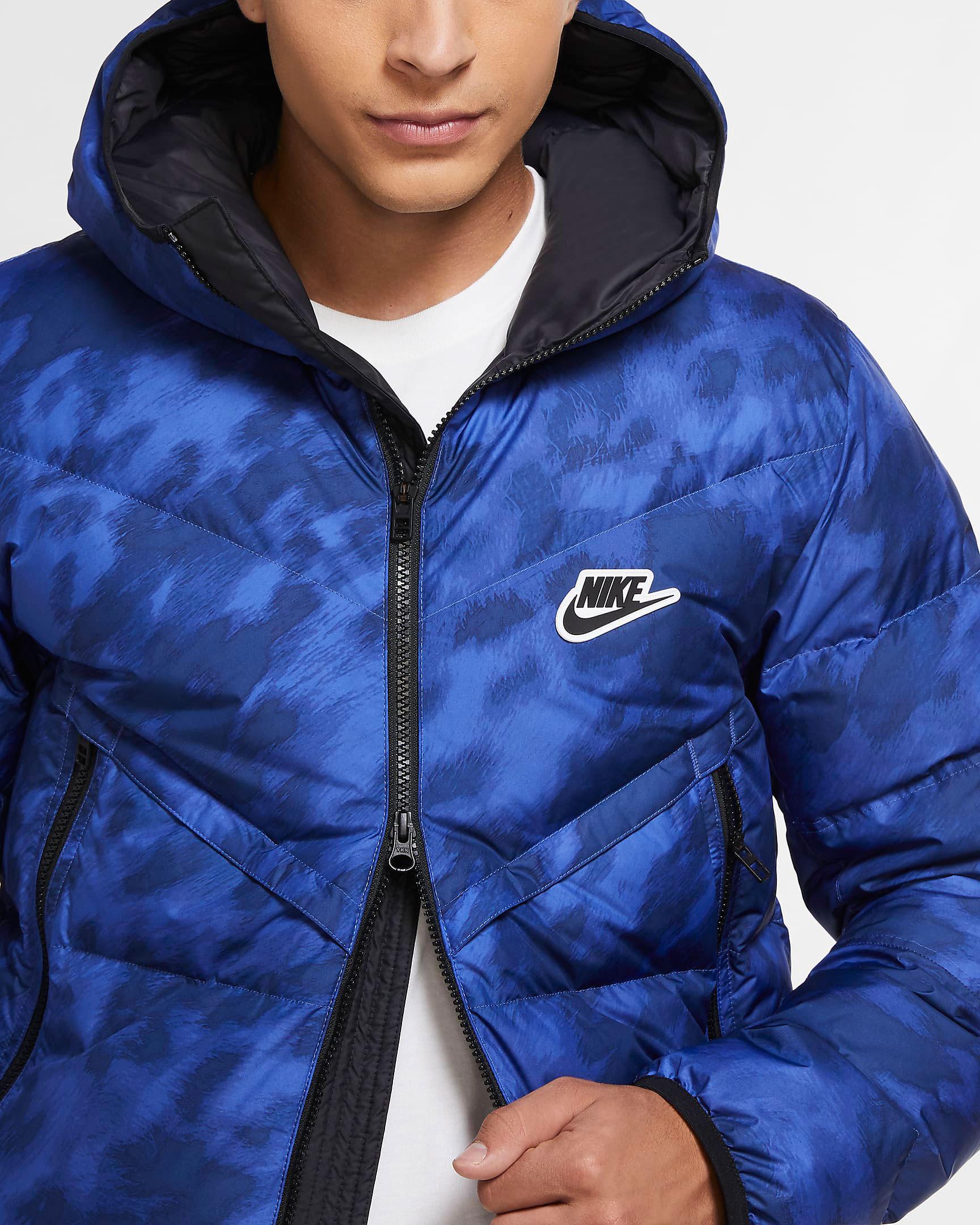 jordan-13-hyper-royal-black-nike-winter-jacket-3