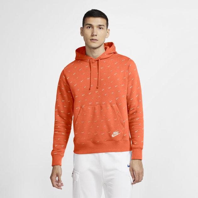 jordan-13-starfish-orange-nike-hoodie