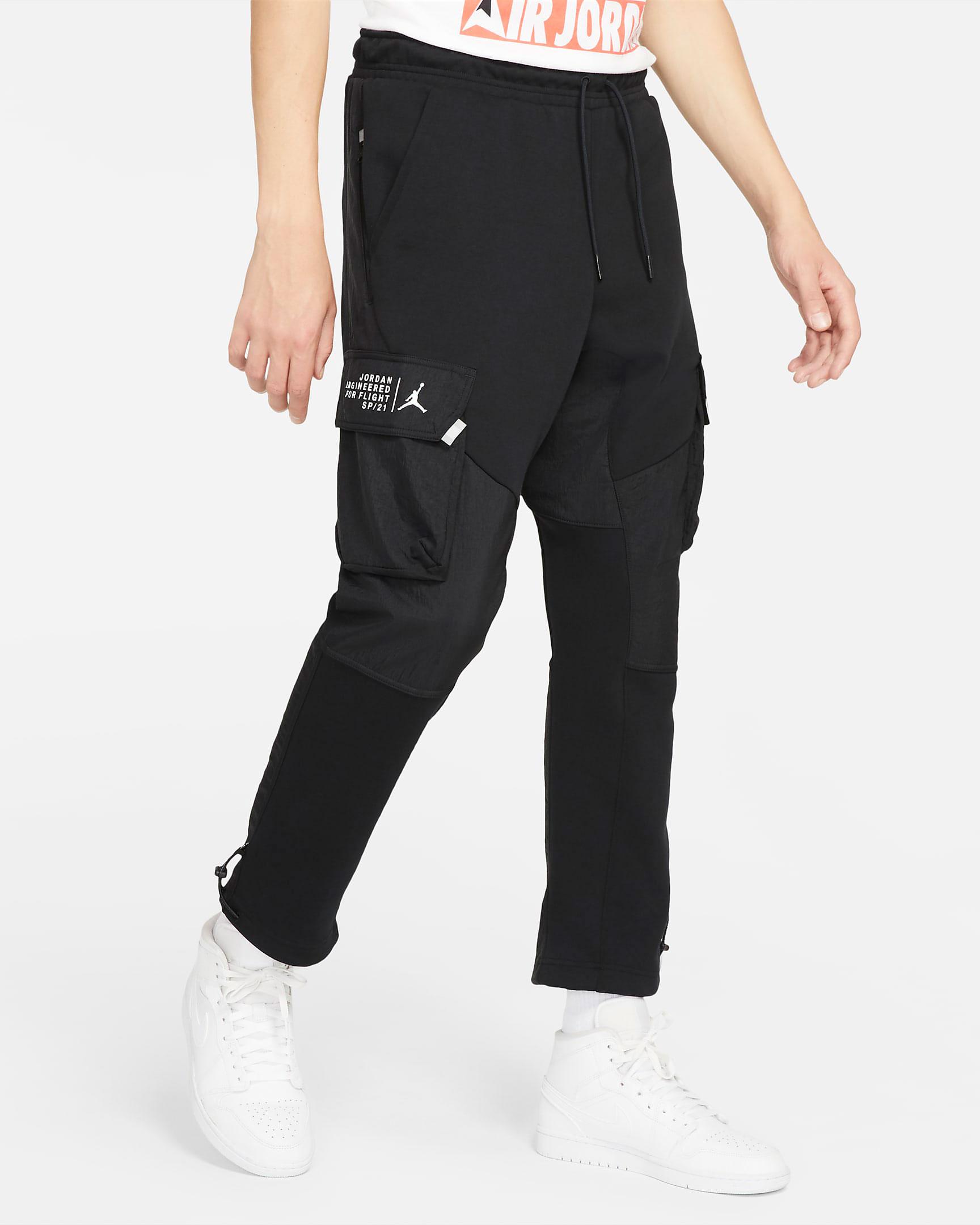 jordan-23-engineered-fleece-cargo-pants-black-white-1