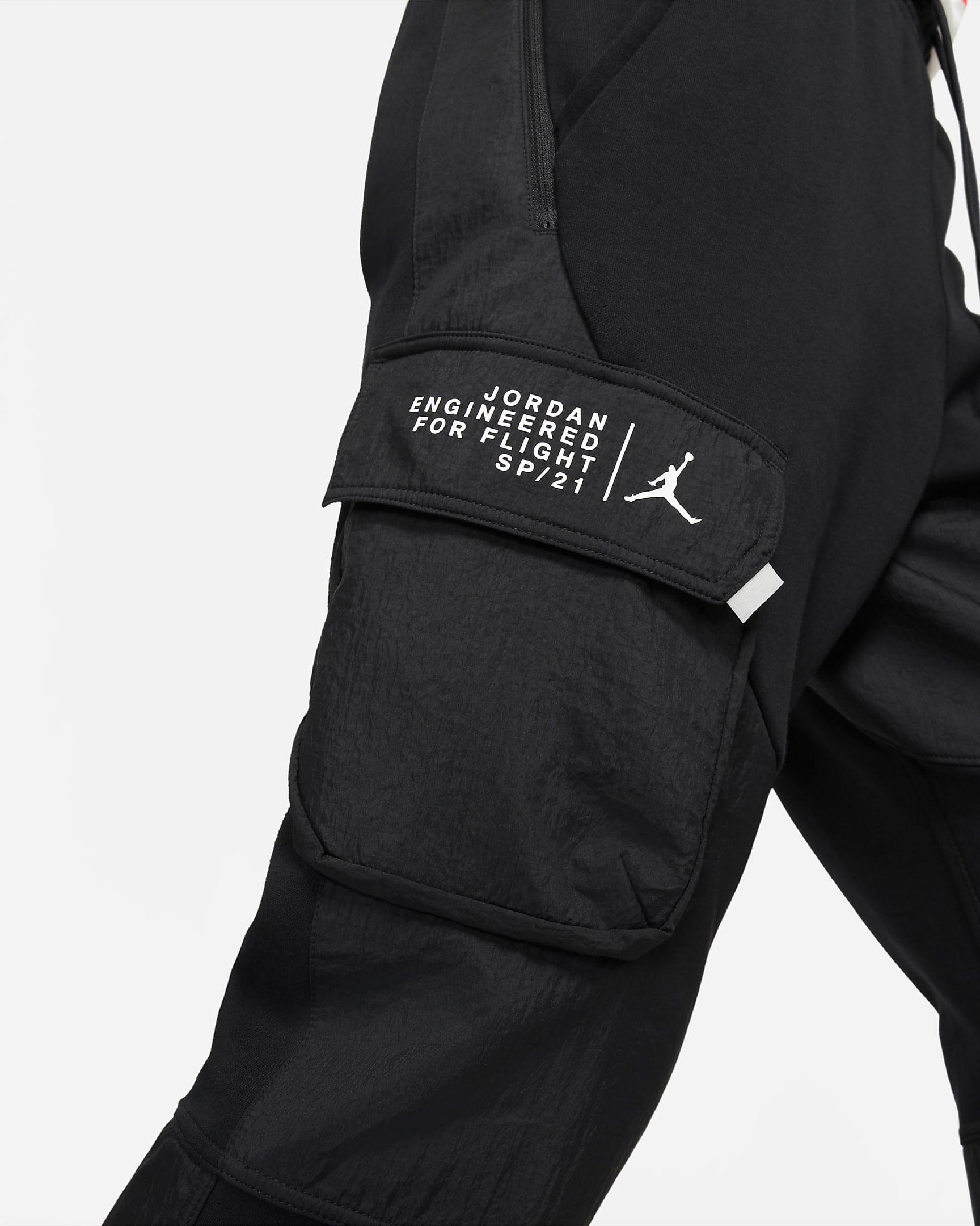 jordan-23-engineered-fleece-cargo-pants-black-white-3