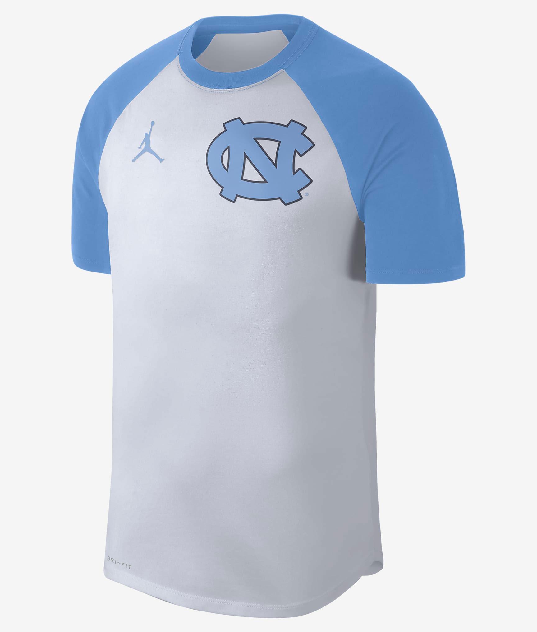 jordan-9-university-blue-unc-shirt