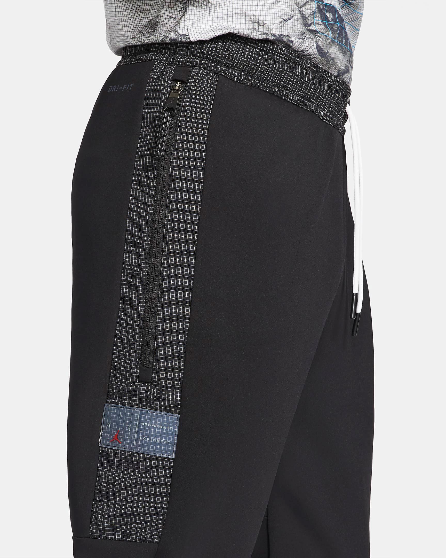 jordan-air-fleece-pants-black-white-4