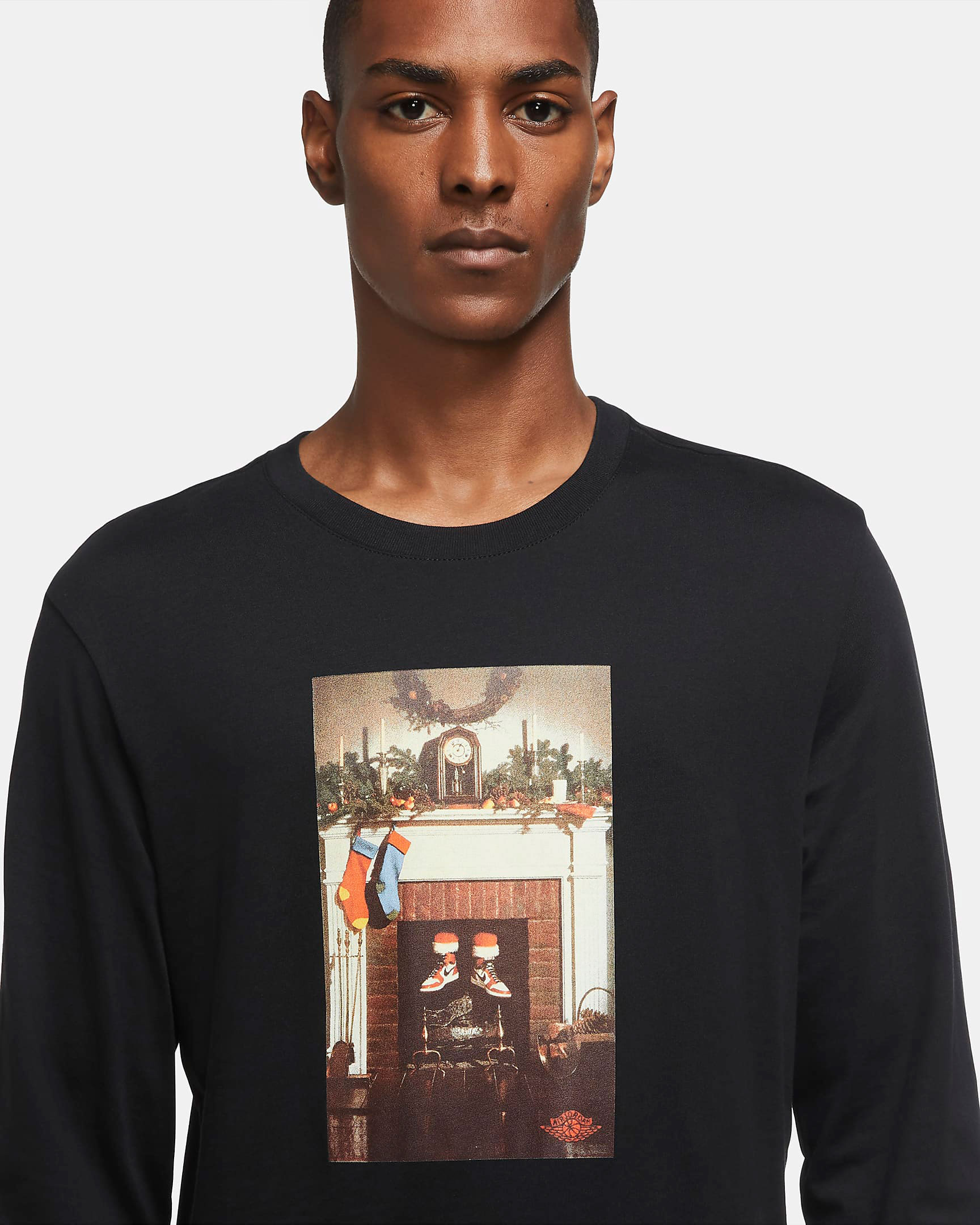 jordan-santa-chimney-holiday-long-sleeve-shirt-black-2