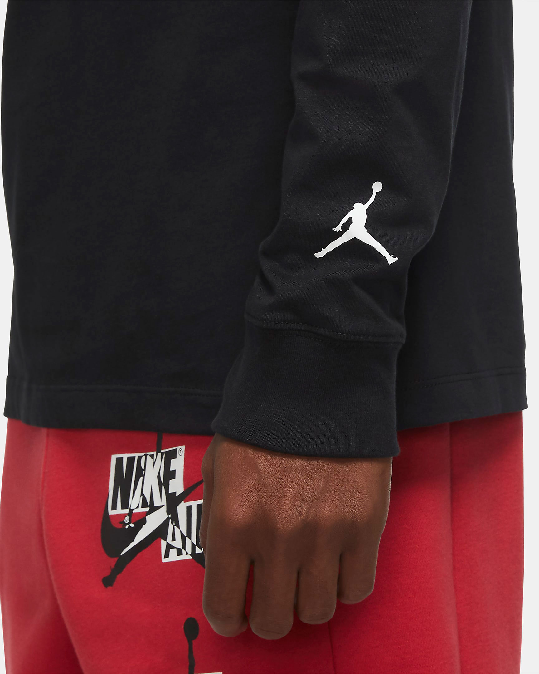 jordan-santa-chimney-holiday-long-sleeve-shirt-black-3