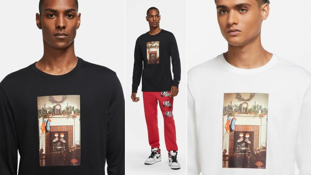 jordan-santa-chimney-long-sleeve-shirt