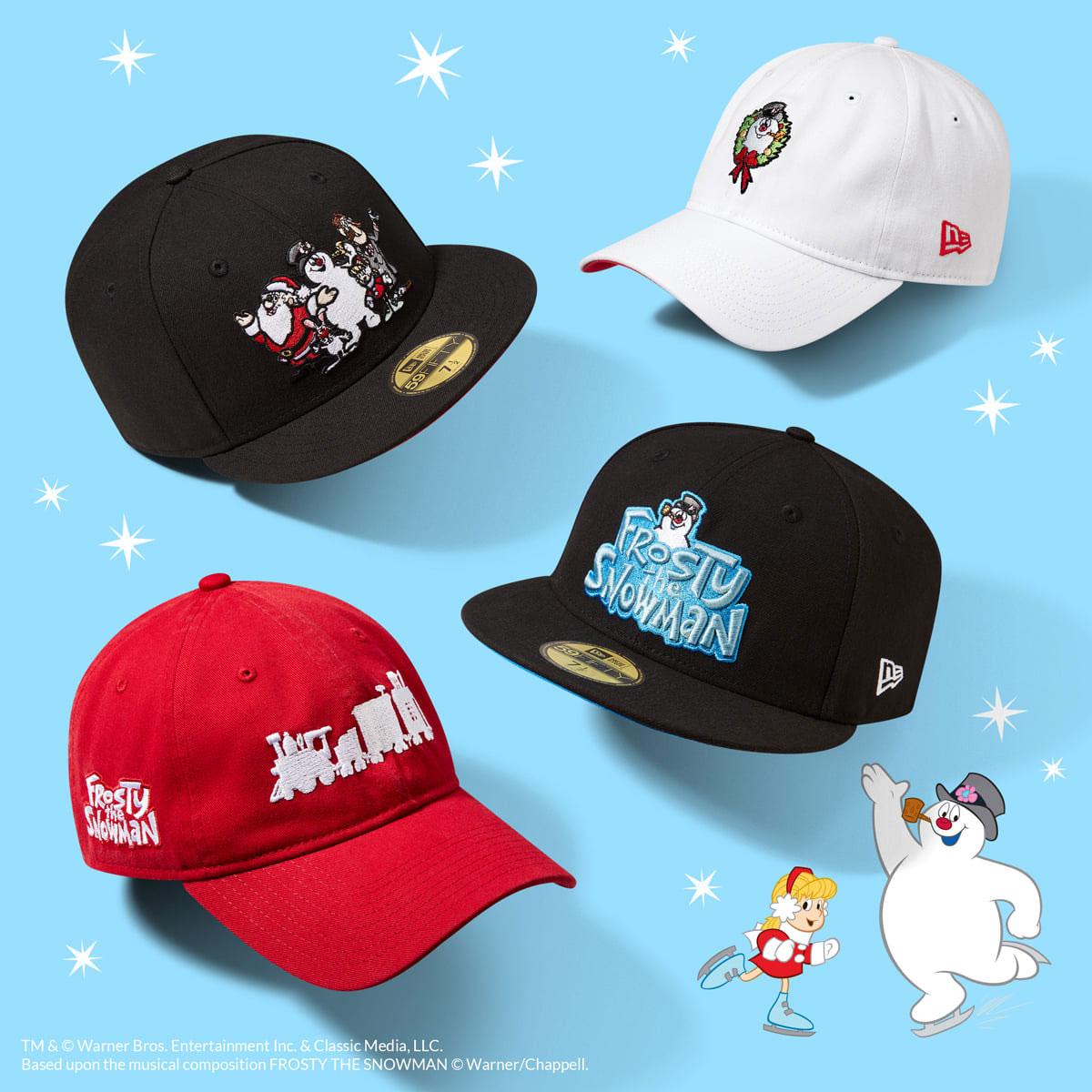 new-era-frosty-the-snowman-hats