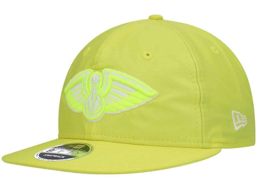 new-orleans-pelicans-new-era-neon-yellow-hat