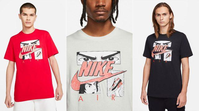 nike-air-max-90-infrared-radiant-red-manga-shirt