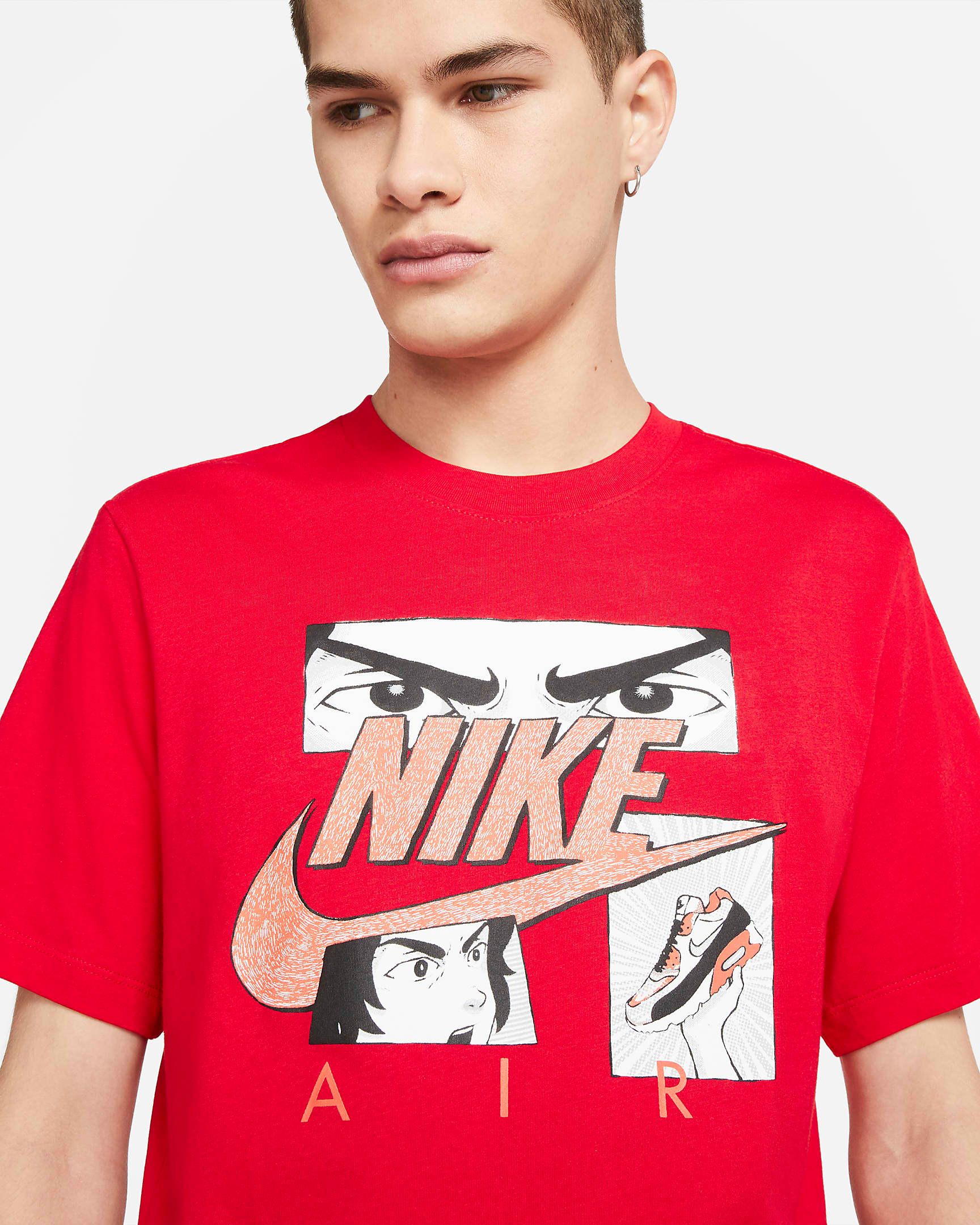 nike-air-max-90-infrared-radiant-red-manga-shirt-red-1