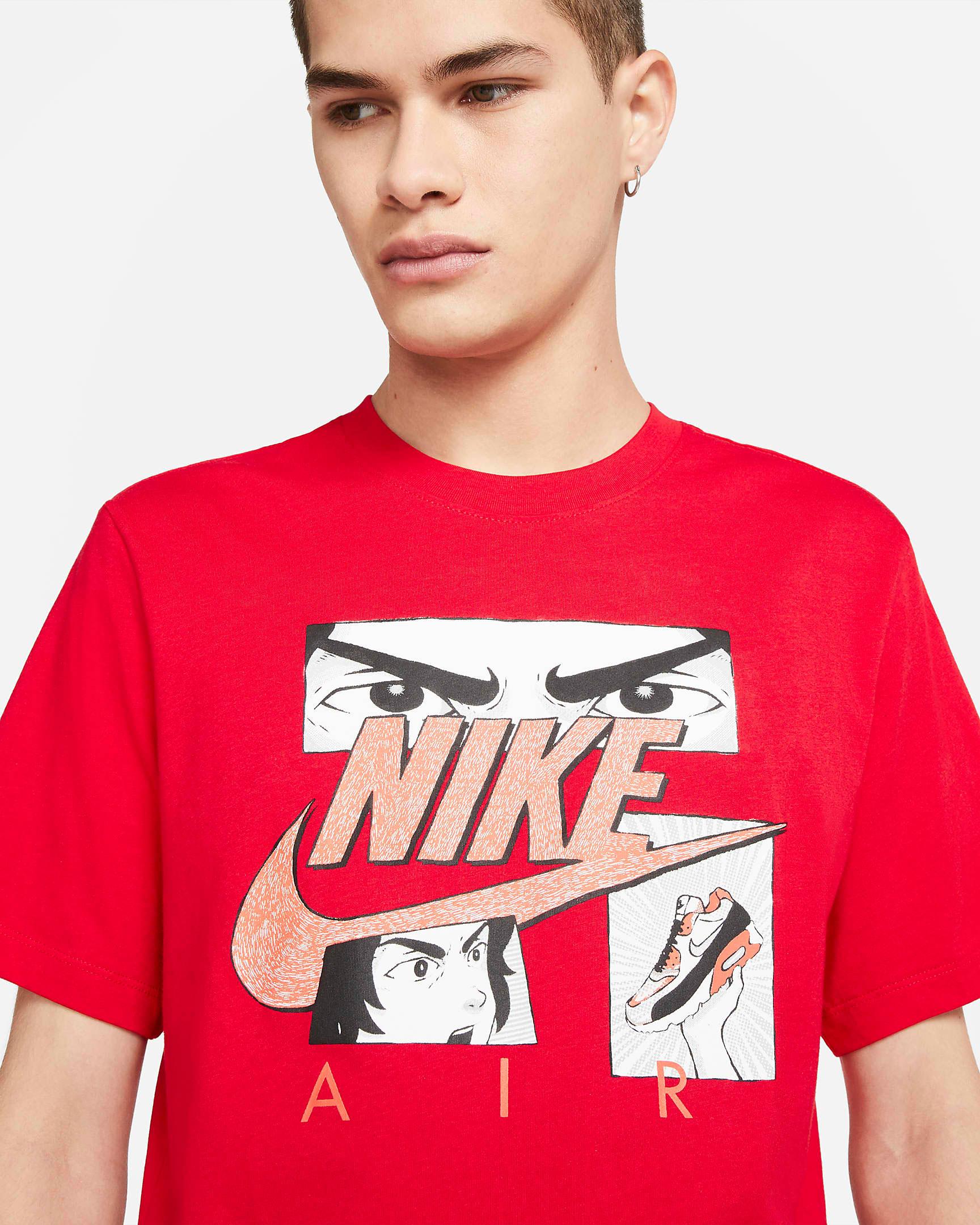 nike-air-max-90-infrared-radiant-red-manga-shirt-red-1