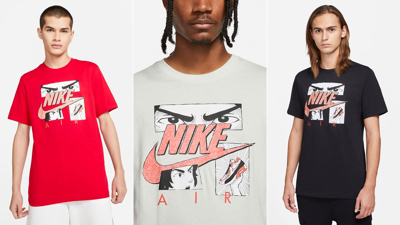 Nike Air Max 90 Infrared Radiant Red Shirt | SneakerFits.com