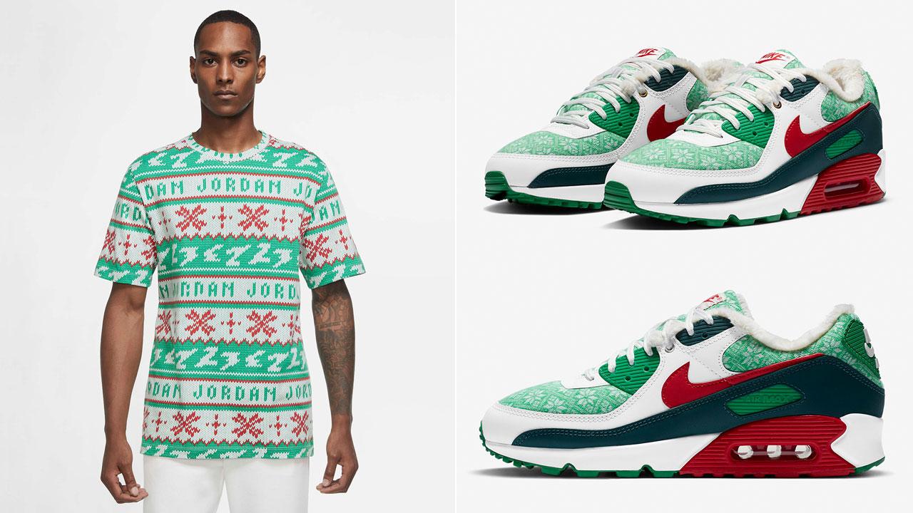 nike-air-max-90-nordic-christmas-shirt-clothing-match