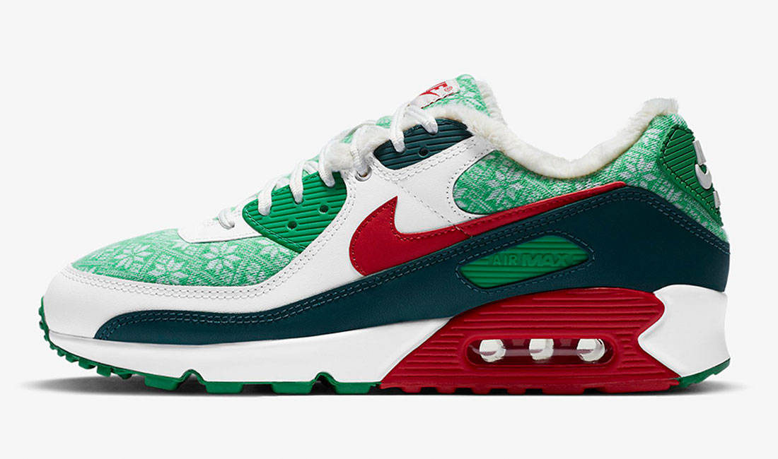 nike-air-max-90-nordic-christmas-sneaker-clothing-match