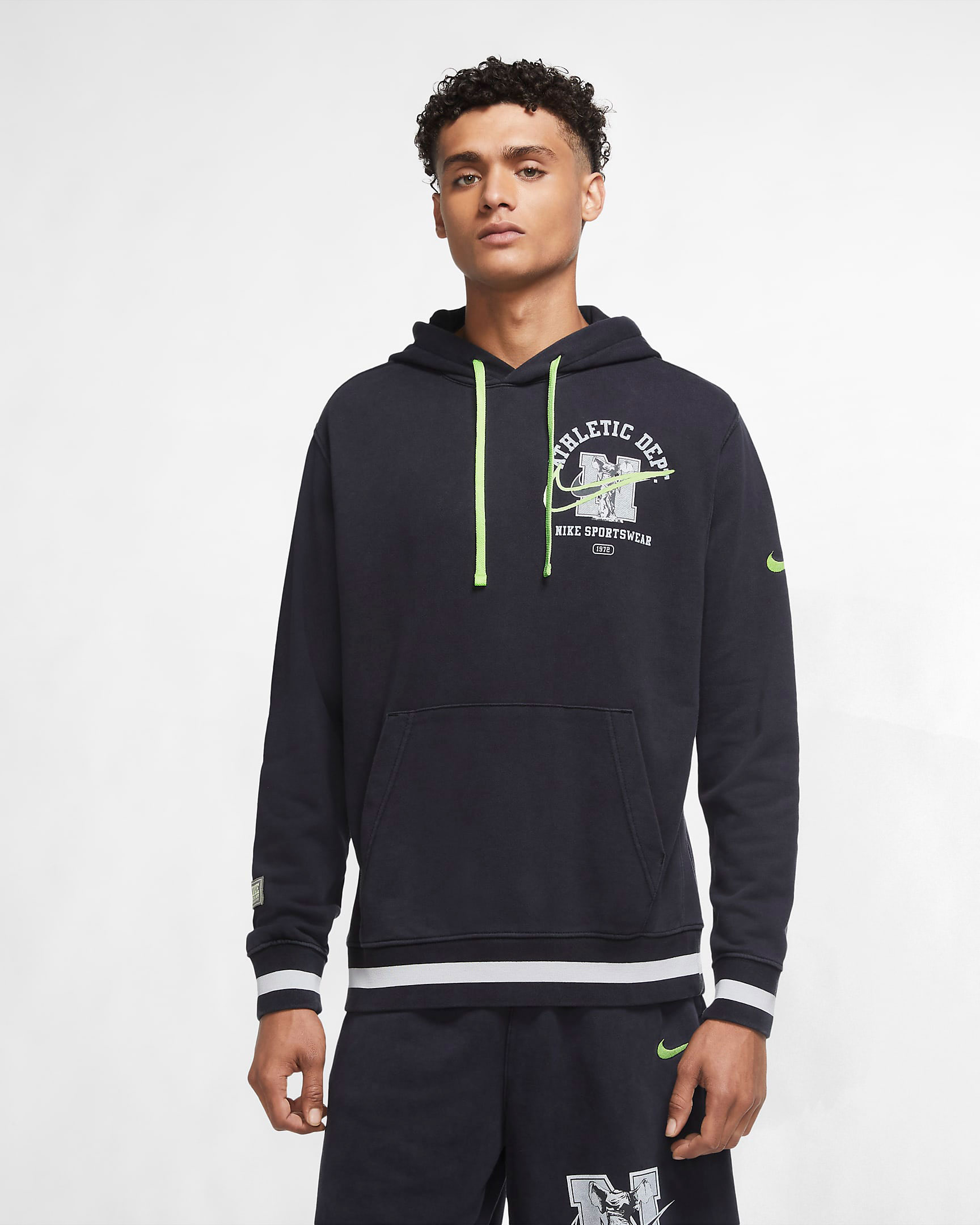 nike-air-total-max-uptempo-black-volt-hoodie-match-1
