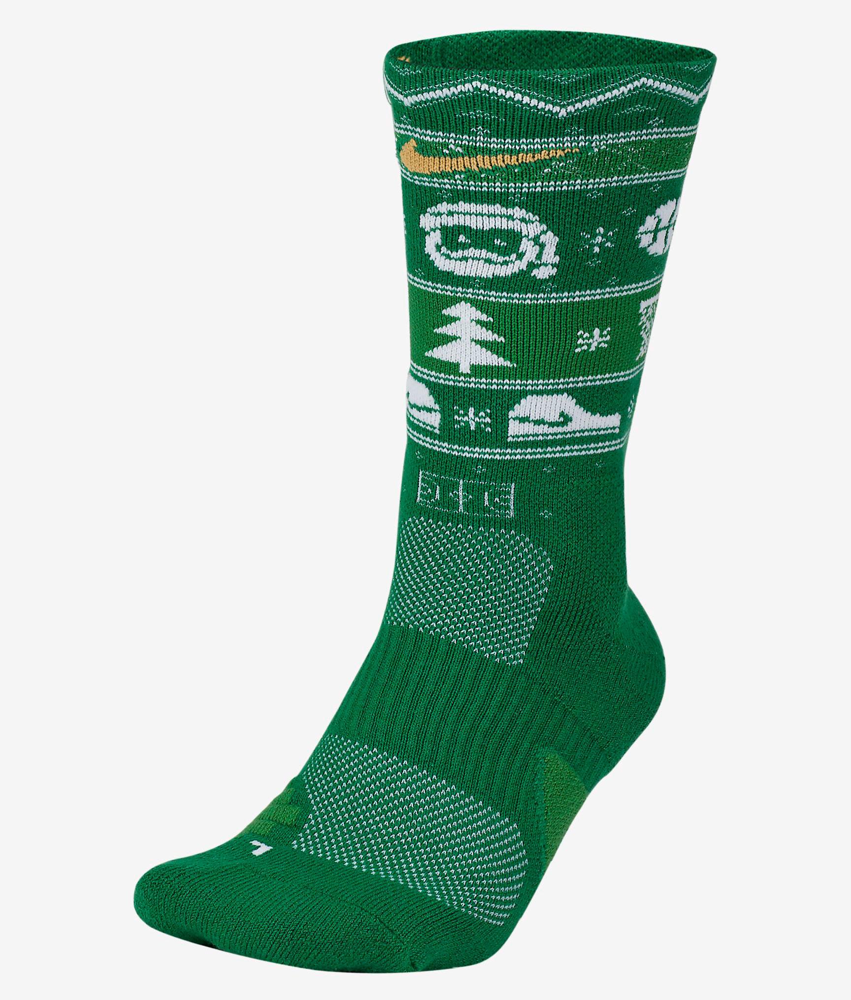 nike-christmas-socks-green