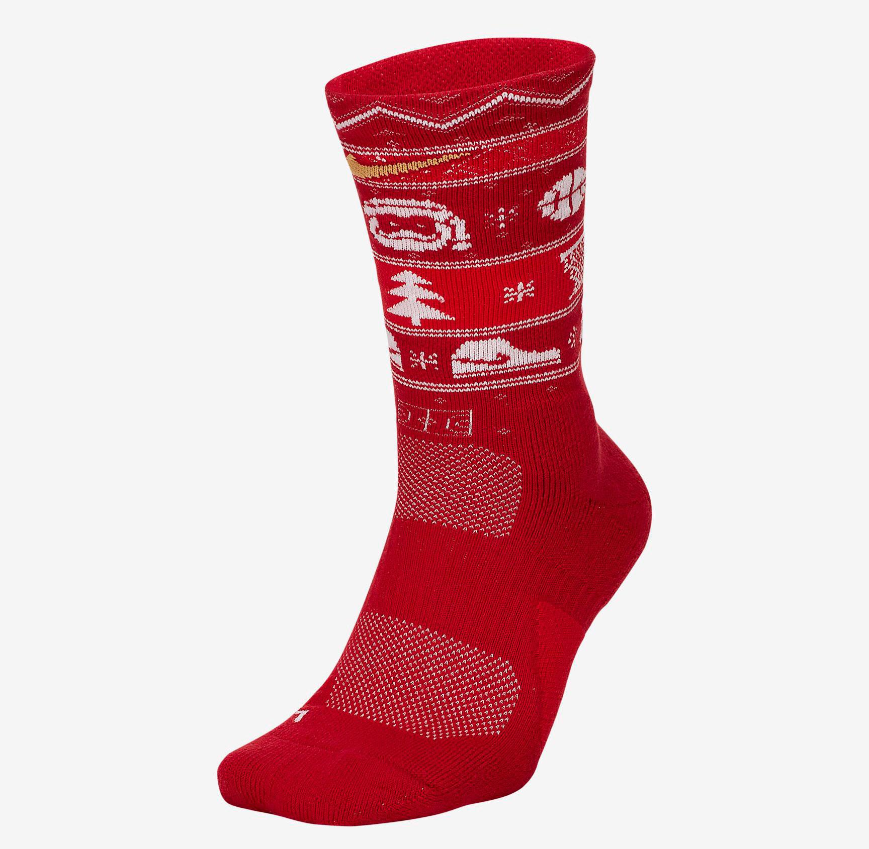 nike-christmas-socks-red