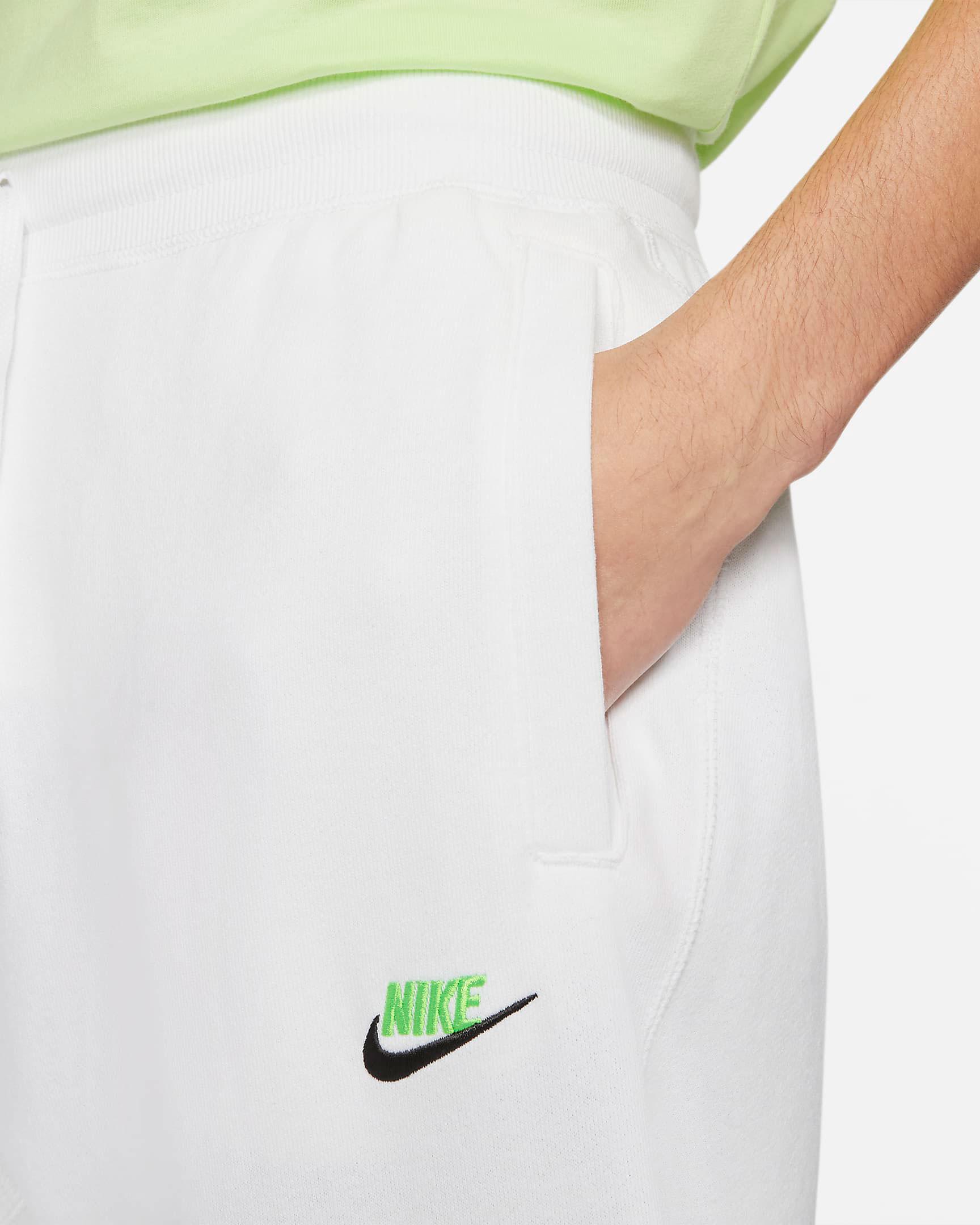 nike-club-fleece-jogger-pants-white-lime-green-black-1