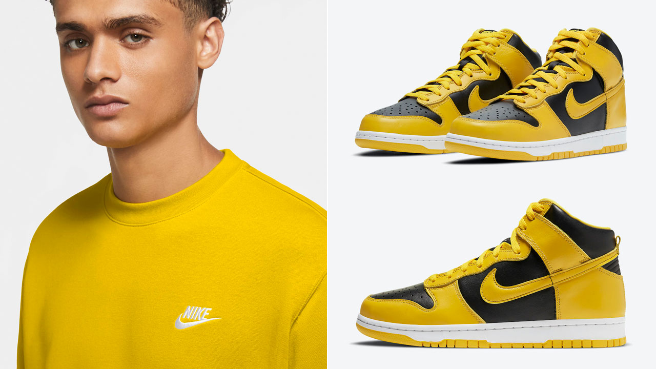 nike-dunk-high-varsity-maize-clothing-outfits
