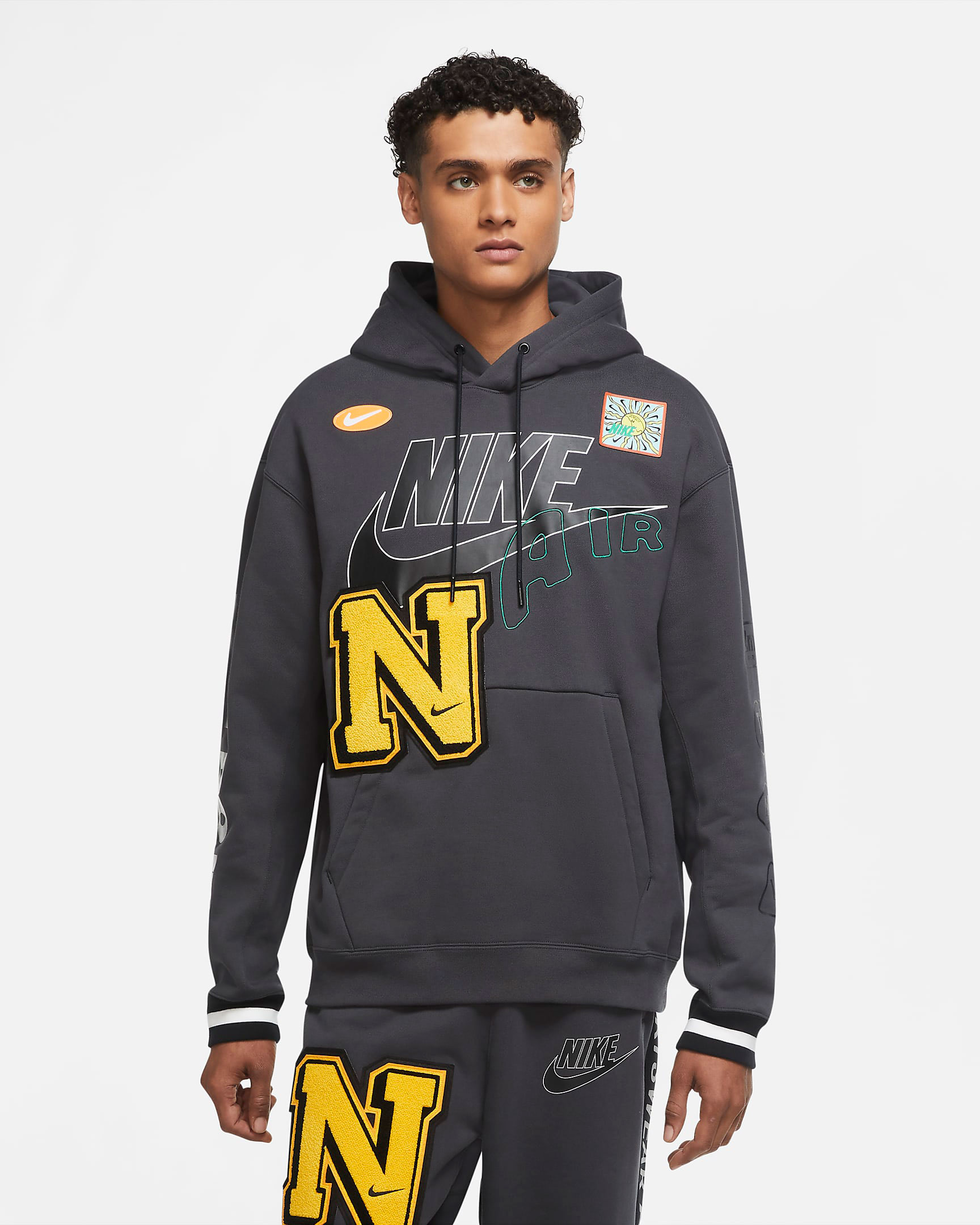 nike-dunk-high-varsity-maize-hoodie-match-1