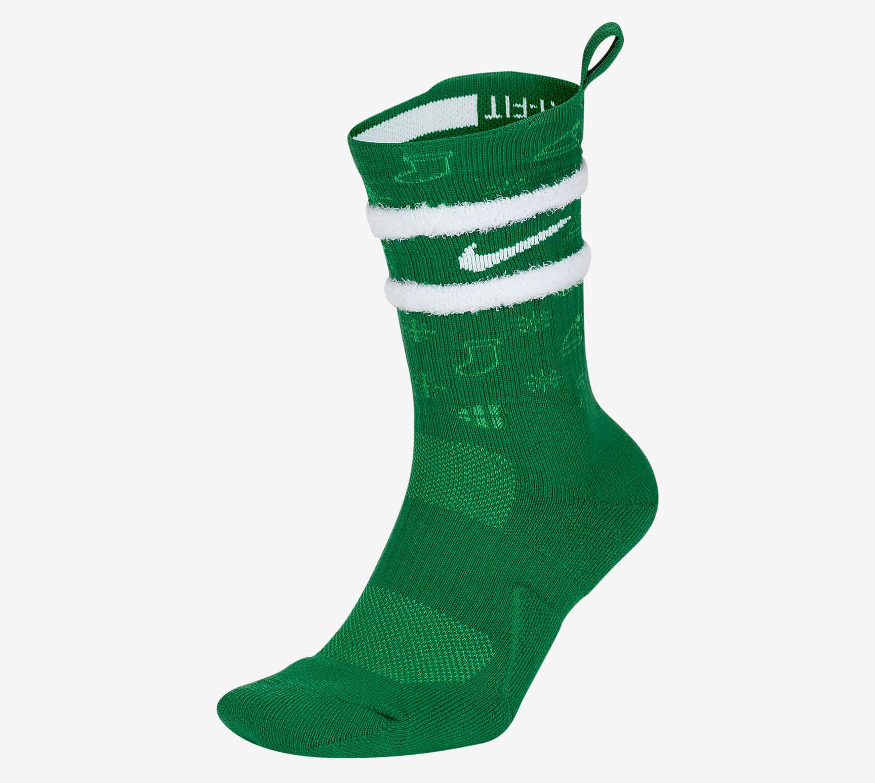 nike-elite-crew-christmas-socks-green