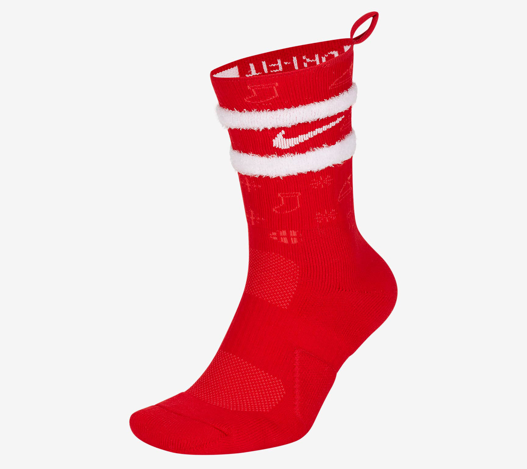 nike-elite-crew-christmas-socks-red