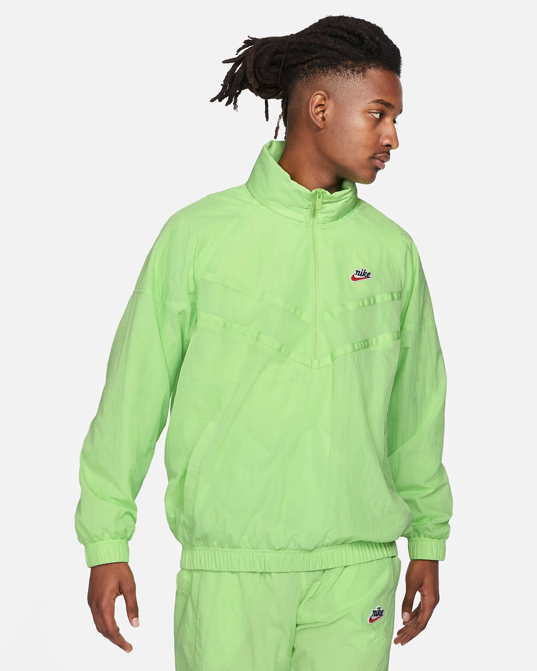 nike-heritage-half-zip-windrunner-jacket-key-lime