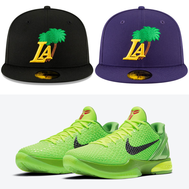 nike-kobe-6-grinch-protro-hats