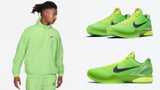nike-kobe-6-protro-grinch-clothing-outfit-match