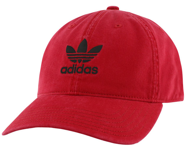 yeezy-350-v2-bred-black-red-hat
