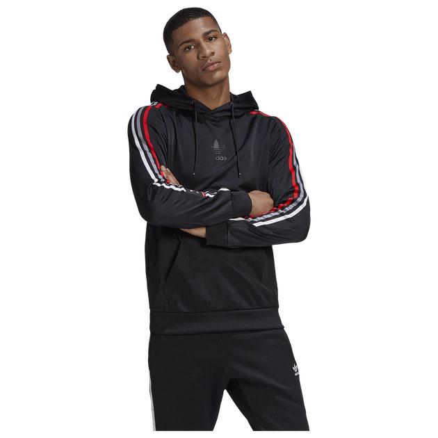 yeezy-350-v2-bred-black-red-hoodie-match