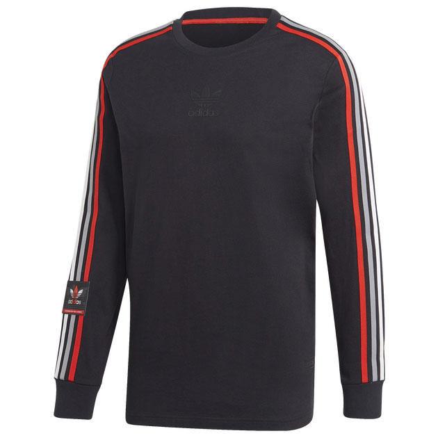 yeezy-350-v2-bred-black-red-shirt-match