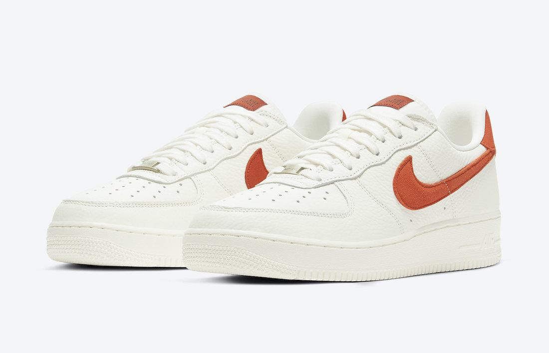 Nike-Air-Force-1-07-Craft-Mantra-Orange-CV1755-100-Release-Date-1