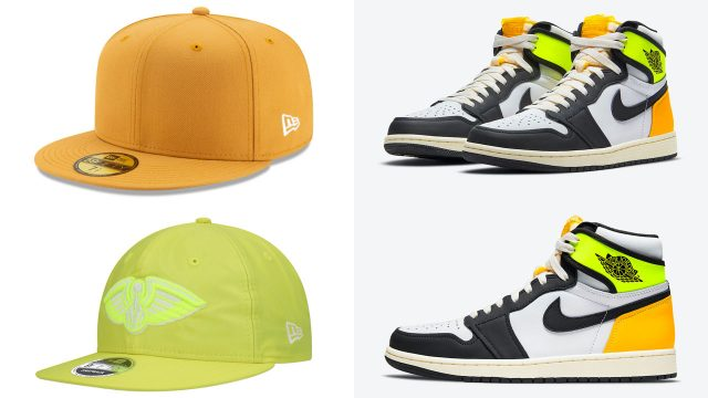 air-jordan-1-high-volt-gold-hats